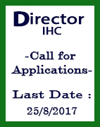 India Habitat Centre (IHC) is looking for a top-notch professional to take over as Director from the present incumbent who superannuates early next year.